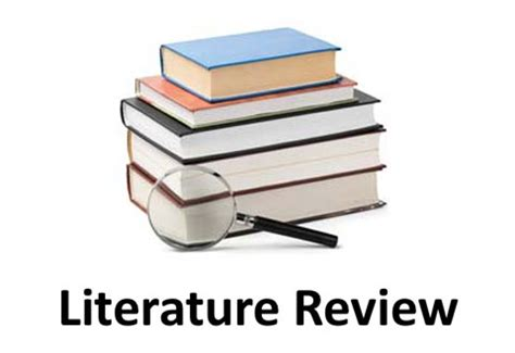 How to write review of literature in research pdf